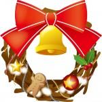クリスマスリース作り方 100均ショップの材料で手作りのクリスマスリースを