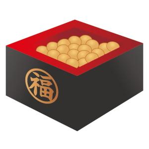 折り紙 節分の豆入れ箱(枡 ...