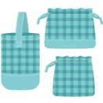 幼稚園や保育園 コップ袋 作り方 簡単手作り 裏地付きや裏地なし