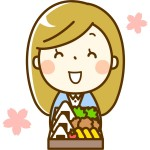 お花見弁当 定番おにぎり作り方 桜飾り手作りレシピでおかずも変身