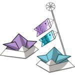 折り紙 端午の節句 こどもの日 折り方-5月の季節飾りの作り方