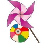 折り紙 風車 折り方 ストローで回る風車&かざぐるま簡単な作り方