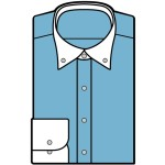 折り紙 ワイシャツ 折り方-父の日ネクタイ付きシャツ簡単な作り方