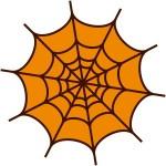 折り紙 蜘蛛の巣 作り方 ハロウィン飾り クモの巣の簡単な切り方