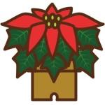 ポインセチア 折り紙 立体の折り方-簡単~本格的 クリスマス飾り