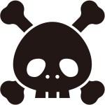 ハロウィンメイク 骸骨~ガイコツ&ドクロ 簡単~本格的メイク方法