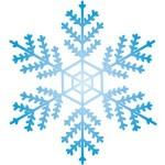 雪の結晶 折り紙 立体の折り方 子供でも簡単クリスマス飾り作り方