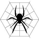 ハロウィンメイク 蜘蛛の巣&クモ 可愛いメイク~本格メイクやり方