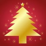 クリスマスツリー 折り紙 平面の折り方 簡単クリスマス飾り作り方