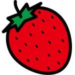 折り紙 いちご 折り方 簡単な平面仕上げの苺(イチゴ)の作り方
