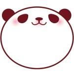 折り紙 パンダ 顔 折り方 簡単~難しめ 平面仕上げパンダ作り方