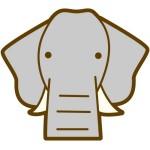 折り紙 ゾウ 折り方 ぞうの顔やこども象の作り方 中級編の折り紙