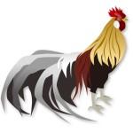 折り紙 にわとり 立体の難しい上級向け折り方 難易度が高い鶏