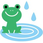 カエル イラスト 無料フリー素材 可愛い 白黒 壁紙など蛙の画像