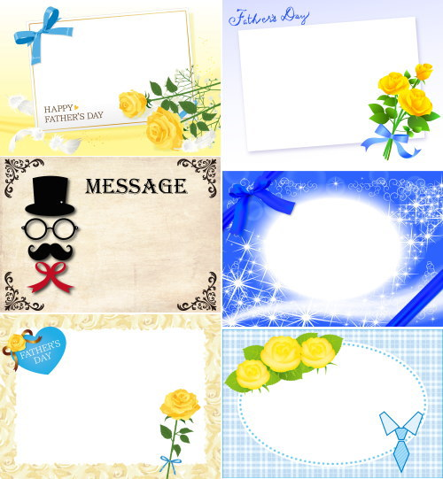 fatherday 3 messagecard
