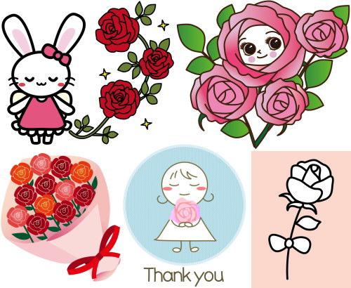 rose 2 kawaii