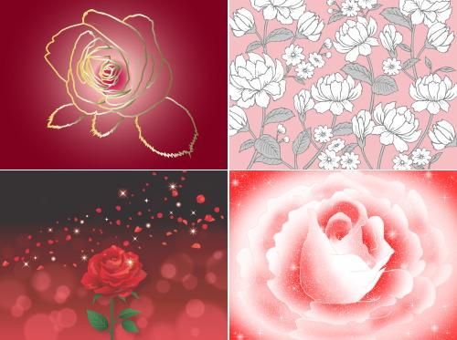 rose 7 haikei