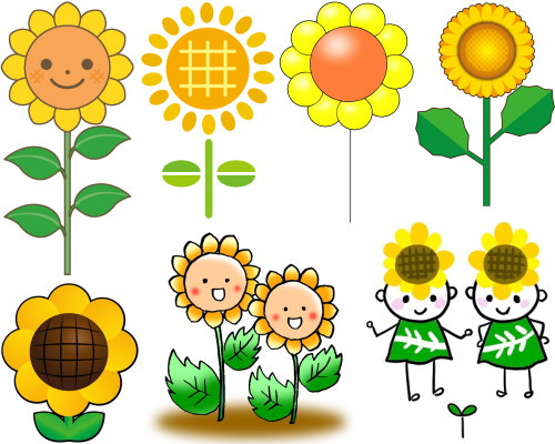 sunflower 7 kawaii