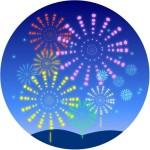 花火 イラスト 無料フリー素材 かわいい花火など各種イラスト画像