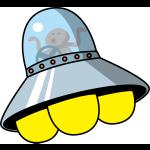 折り紙 UFO 立体の折り方 難しい円盤・宇宙船タイプ作り方